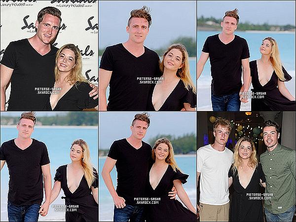 04 / 06 / 16 :Sasha a été au tournoi de golf & a profitée de la mer avec son chéri au Bahamas. Sashaa été au Bahmas un week end pour un event au golf.Cet événement secomposait de célébrités allant visiter lesjeux de golf.