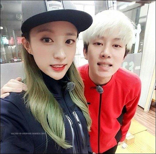 """-- 17/03/16: Hani (EXID) et Heechul (Super Junior) deviennent les nouveaux présentateurs de """"Weekly Idol""""  --"""