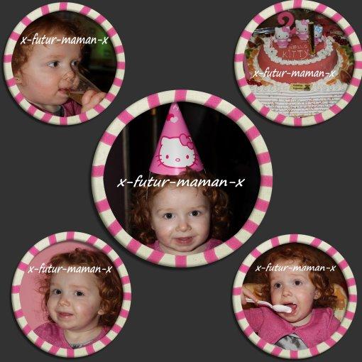 ♥ Fête d'anniversaire de ma princesse ♥