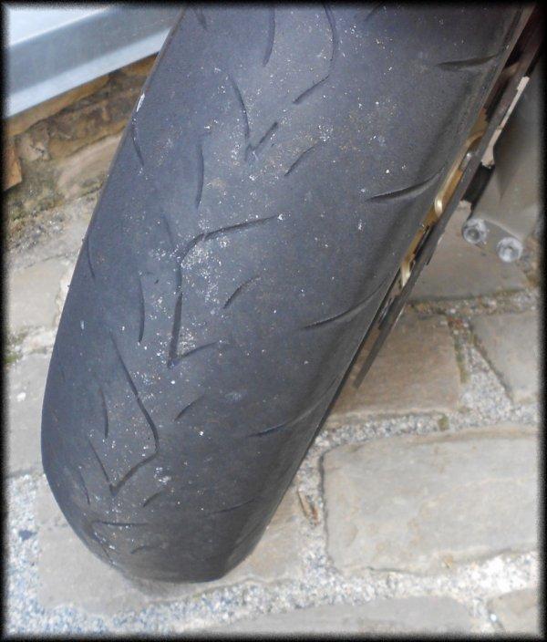 Dernière sortie ce dimanche, mon pneu is very dead :(