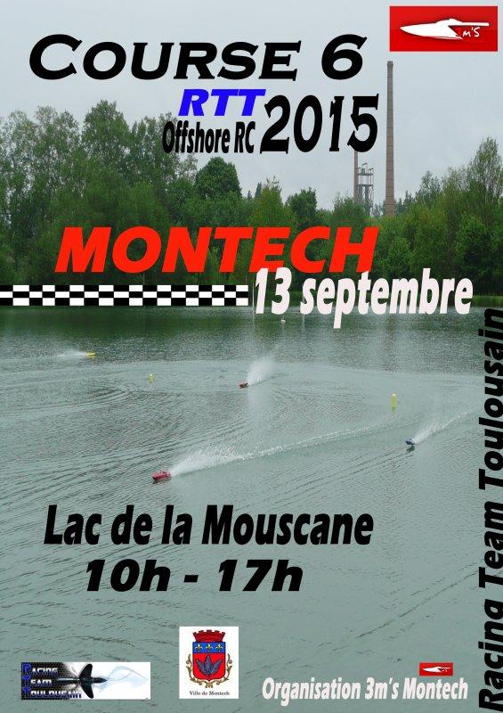 Affiche C6 Montech 13 septembre 2015