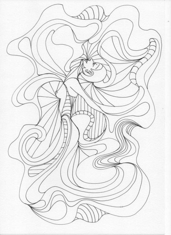 Femme Papillon #02