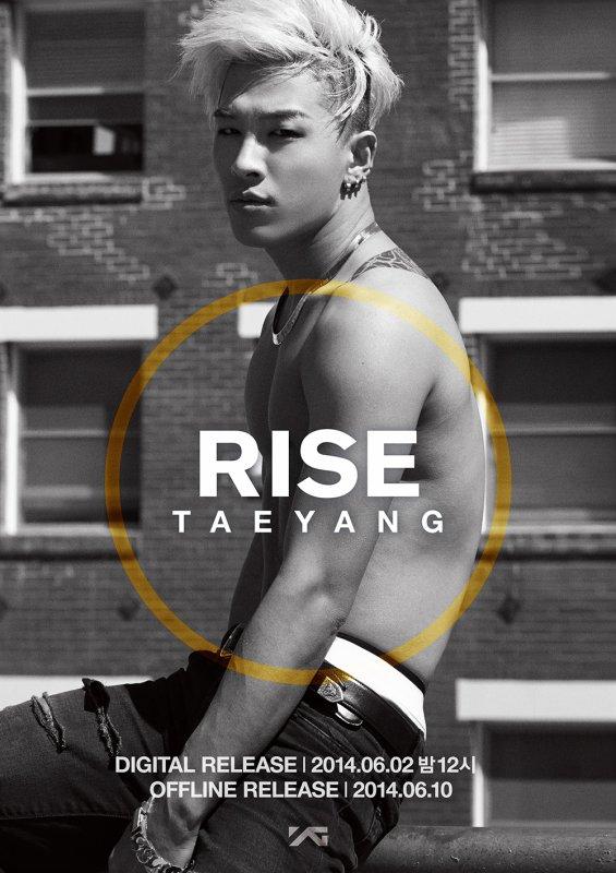 2ème album de TaeYang : Rise