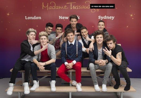 18-04-2013 -Les boys s'invite en cire au musée de Madame Tussauds