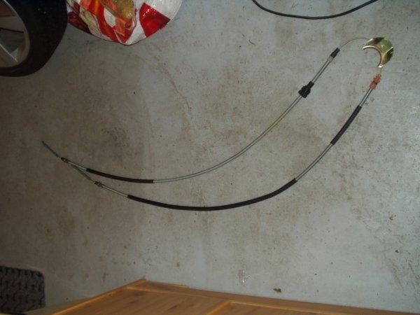 un câble de frein a main , neuf