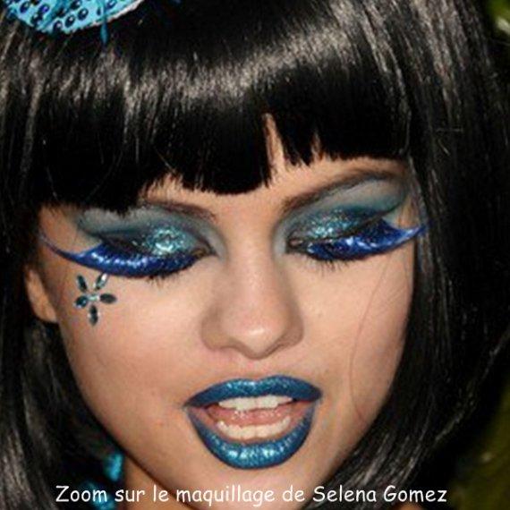 Samedi 26 Mars : S. était présente à la fête d'anniversaire de Perez Hilton dont le thème principal était le bleu (L.A).