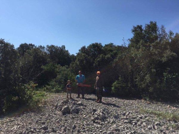 7 journée de nettoyage chez les Gaulois de Viols le fort