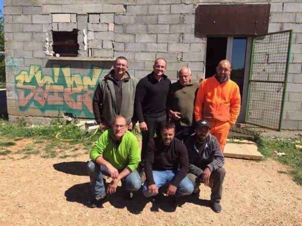 9 ème journée de nettoyage chez les Gaulois de Viols le fort !!!!