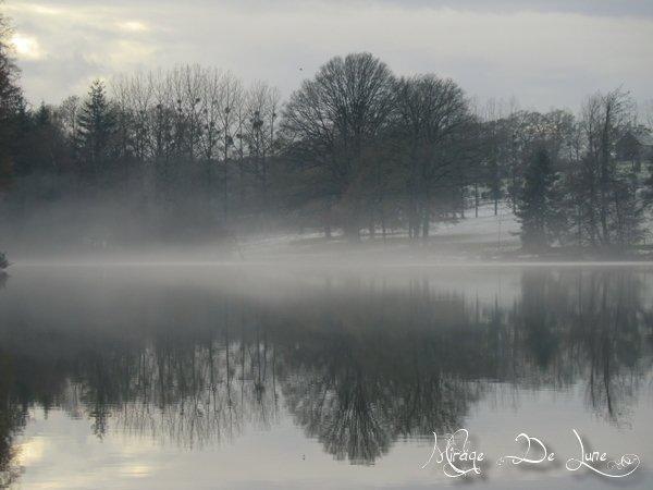 Encore le lac devant chez moi...
