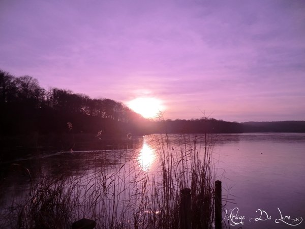 Un début de coucher de soleil...