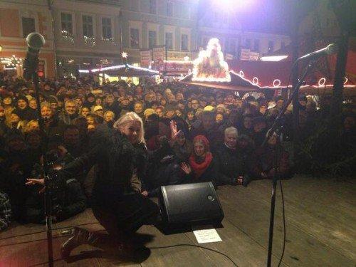 8 décembre 2013: Kim Wilde live à Mayence