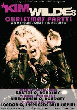 18 décembre 2013: Kim Wilde & Nik Kershaw live à Bristol