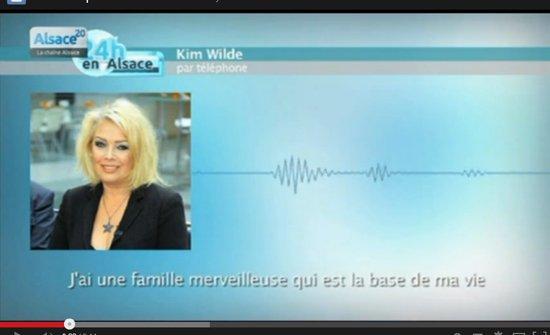 20 janvier 2014: Sous le gril: Kim Wilde