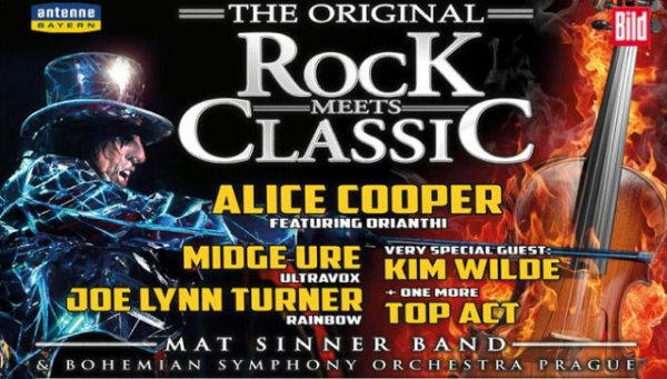 12 Mars: 2014 Rock meets Classic Ratiopharm Arena, Neu-Ulm (Germany)