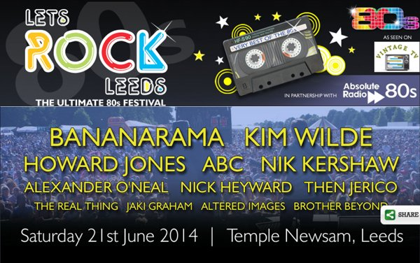 21 Juin 2014: Let's Rock The Family Friendly 80s Festival
