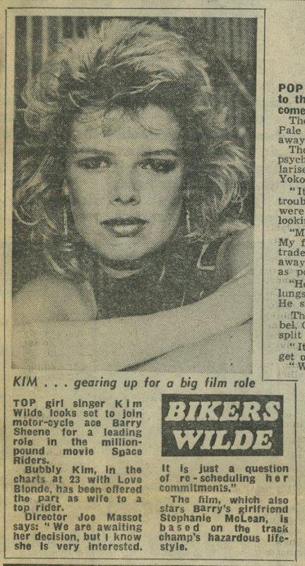 19 Aout 1983: Bikers Wilde