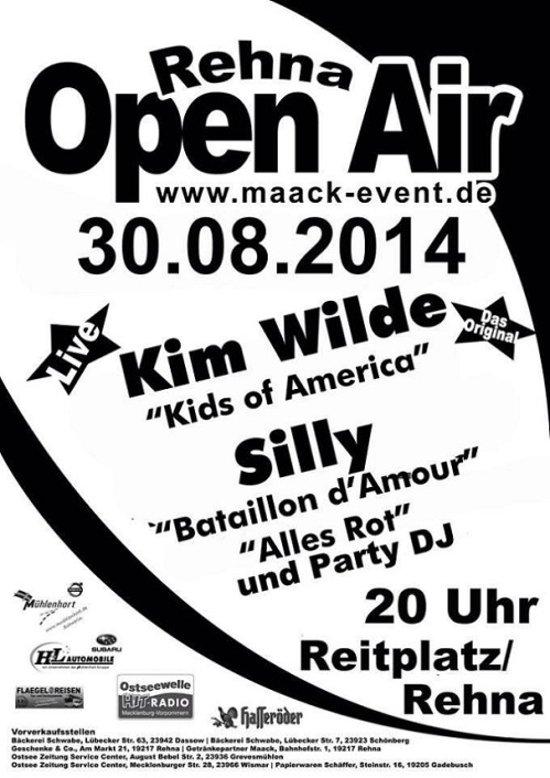 30 Août 2014: Rehna Open Air - Reitplatz