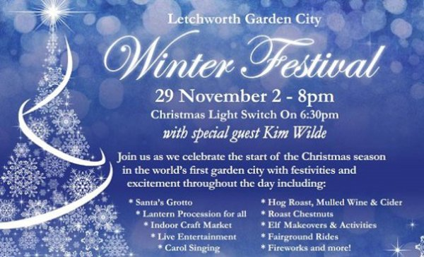 29 Novembre 2014: Garden City Winter Festival - With