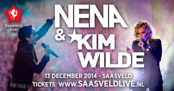 13 Décembre 2014: Saasveld aux Pays - Bas avec Kim Wilde et Nena