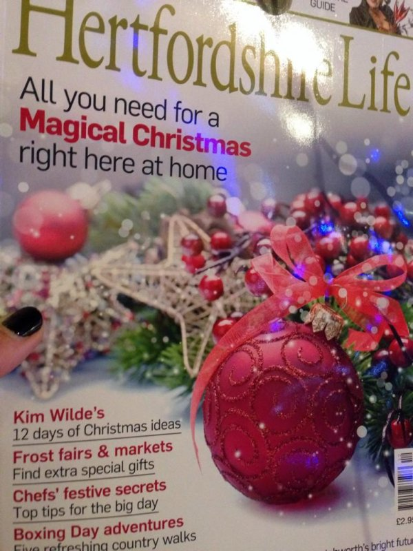 26 Novembre 2014: Loving Christmas with @hertslife