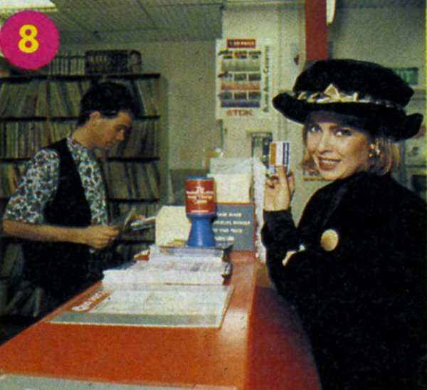 19 décembre 1990: Chrissie shopping