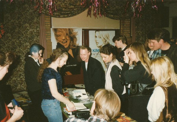10 mars 1996: Kim Wilde Fan Meeting