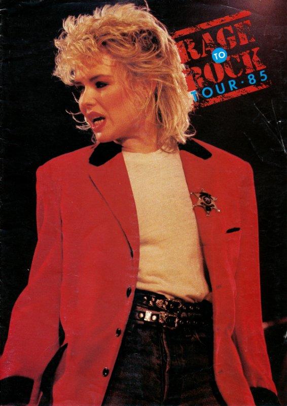 15 mars 1985: Rage to rock tour
