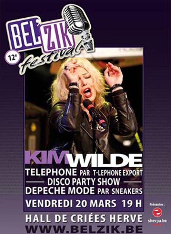 20 Mars 2015: Kim Wilde: 12e Bel'Zik festival
