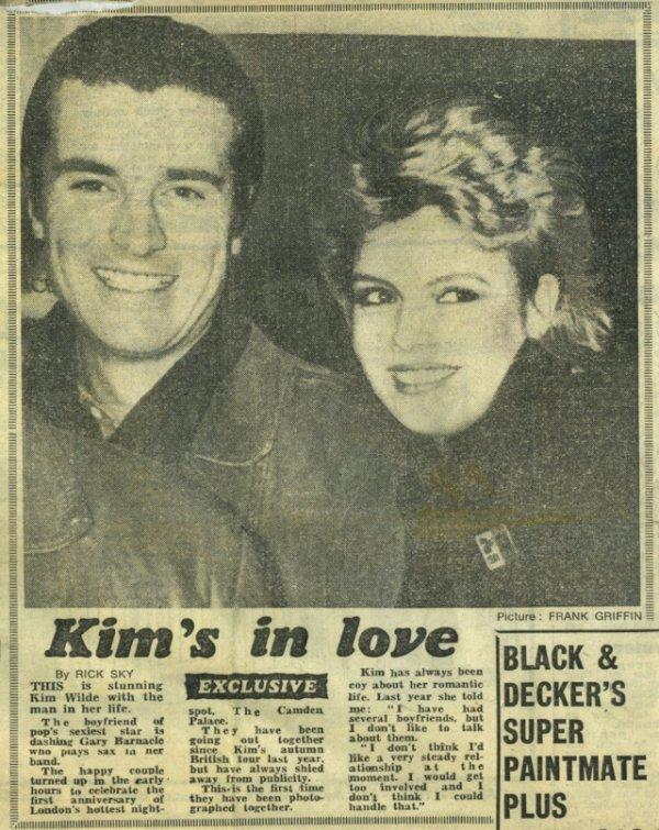 25 avril 1983: Kim's in love