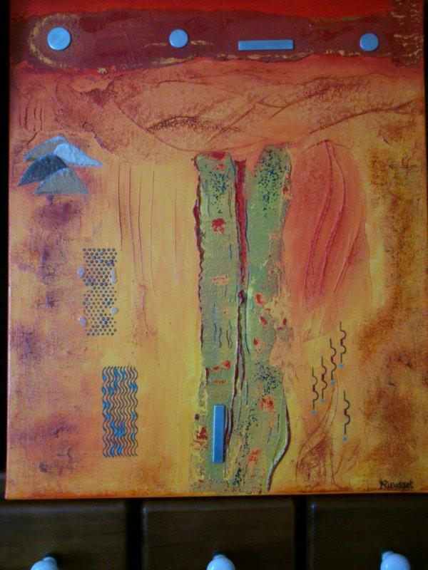 """la route du sel, """" coucher de soleil sur l'Atlas """""""