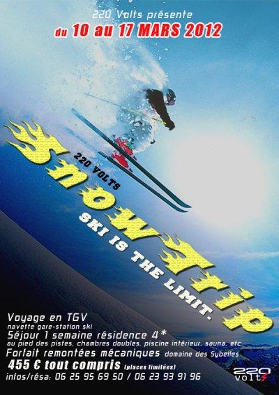 VOYAGE AU SKI by 220Volts. du 10 au 17 Mars 2012