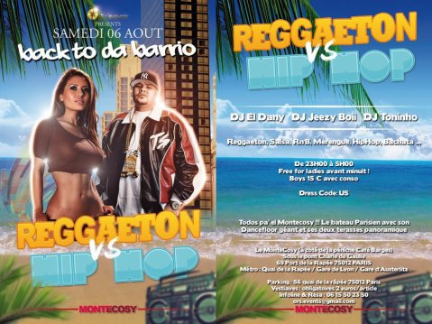 ★★★ BACK TO DA BARRIO - Welcome to My HooD - Reggaeton vs Hip Hop ★★★