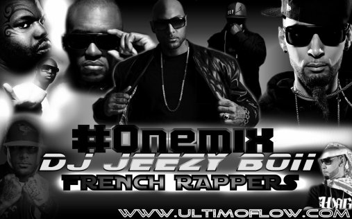 "Mardi 1er Novembre #Onemix 3eme Episode ""French.RapperS"" by DJ JEEZY BOII ."