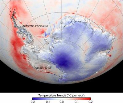 Antarctique : Icebergs et réchauffement climatique : coup de froid