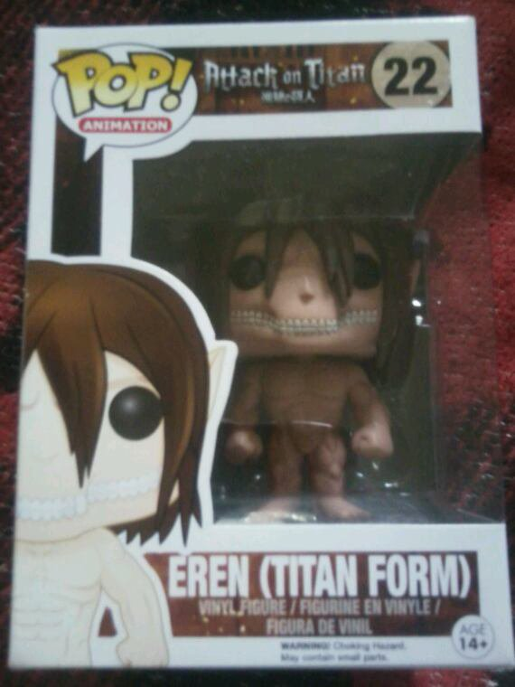 Pop Eren Titan