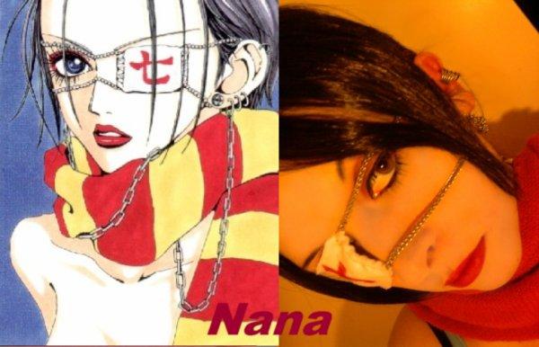 Mes cosplay Nana