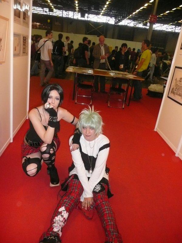 Mon cosplay de moi  Nana et Shin a la Japan Expo =p