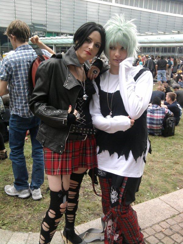Encore une photo de mon cosplay a la Japan Expo lol