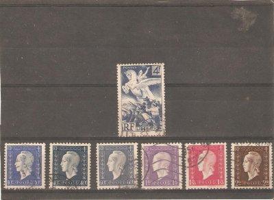 France oblitérés 1945