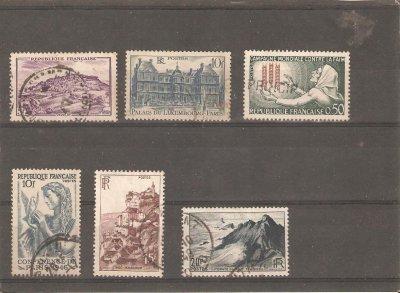 France oblitérés 1946