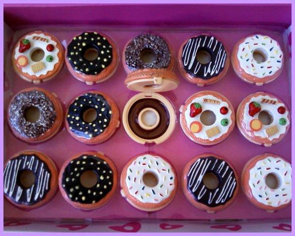 Baume pour les lèvres en forme de Donuts