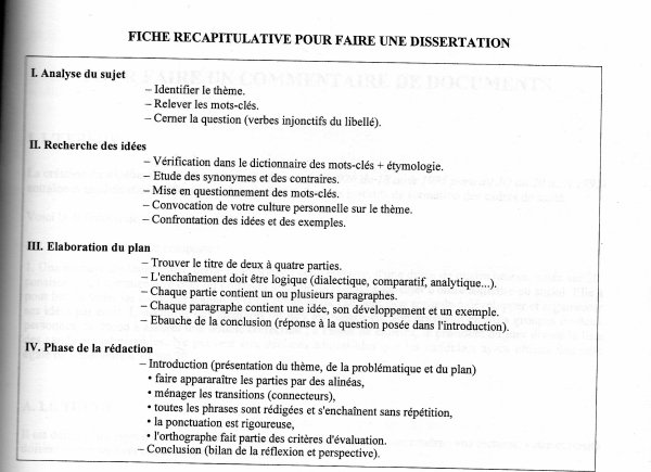 Dissertation droit administratif mthode