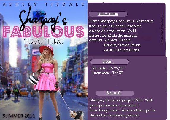Sharpay's Fabulous Adventure !!