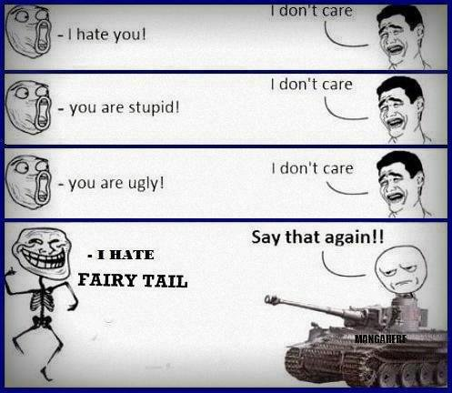 troll face and Fairy Tail