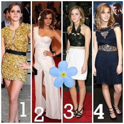 Emma et les robes ....