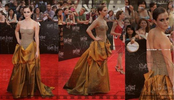 Emma et Rupert à l'avant première de Harry Potter 7 et les reliques de la mort II ils sont magnifiques !