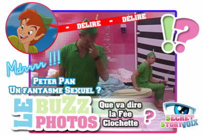 Le Buzz Photo : Bastien, un Peter Pan très SEXY ?!?