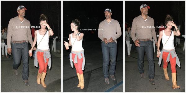 13 / 09 / 2012 - Eliza et Rick dans Hollywood.