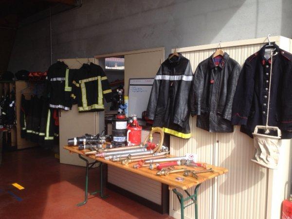 Expo pompier  ce week end a Balan