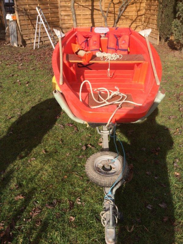 Barque pompier récupéré dans un CPI